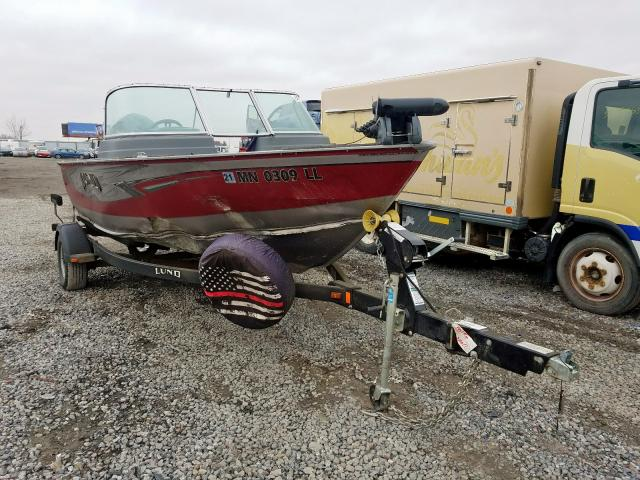 Salvage 2016 Lund BOAT for sale