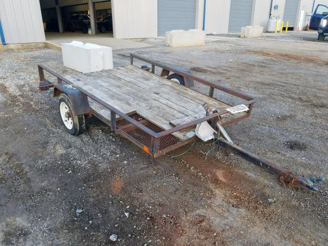 Acto Trailer salvage cars for sale: 1986 Acto Trailer