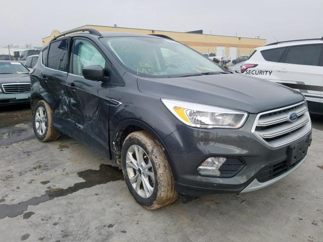 Salvage 2018 Ford ESCAPE SE for sale