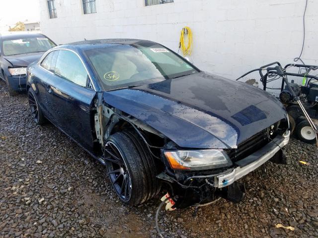 Salvage 2009 Audi S5 QUATTRO for sale