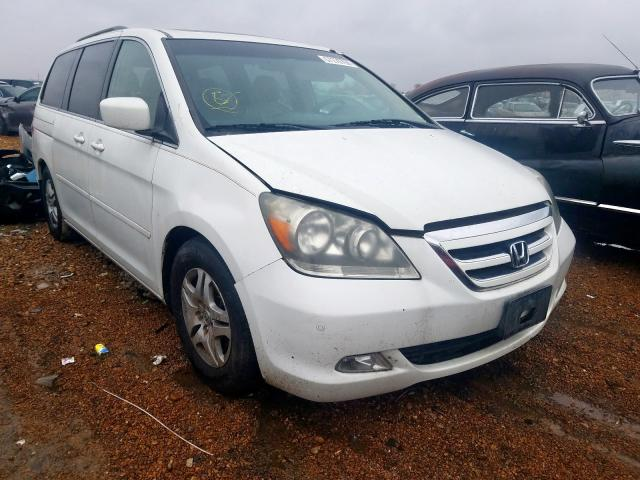 Salvage cars for sale from Copart Bridgeton, MO: 2005 Honda Odyssey TO