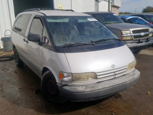 Toyota Previa LE salvage cars for sale: 1992 Toyota Previa LE