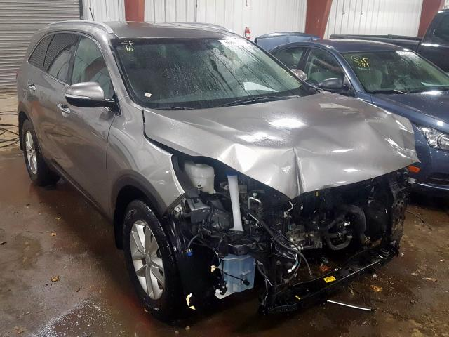 Salvage cars for sale from Copart Lansing, MI: 2016 KIA Sorento LX