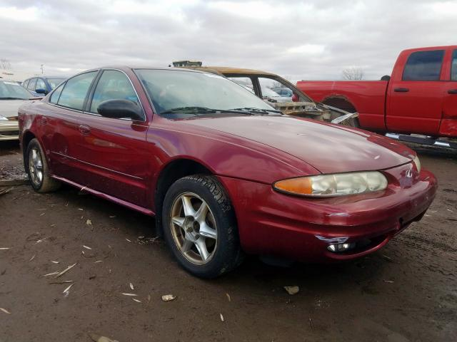 Salvage 2003 Oldsmobile ALERO GLS for sale