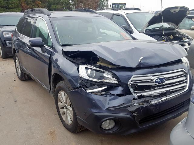 Salvage cars for sale from Copart Dunn, NC: 2017 Subaru Outback 2