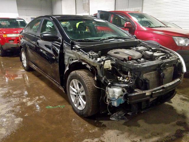 Salvage cars for sale from Copart Ham Lake, MN: 2013 Hyundai Sonata GLS
