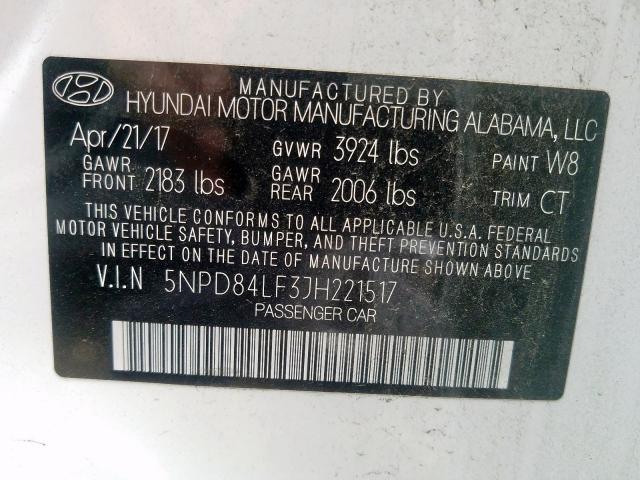 Купить Hyundai Elantra 2018 г. из США с доставкой и растаможкой под ключ.