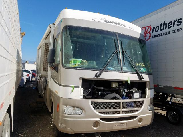 Salvage cars for sale from Copart Colton, CA: 2001 Workhorse Custom Chassis Motorhome