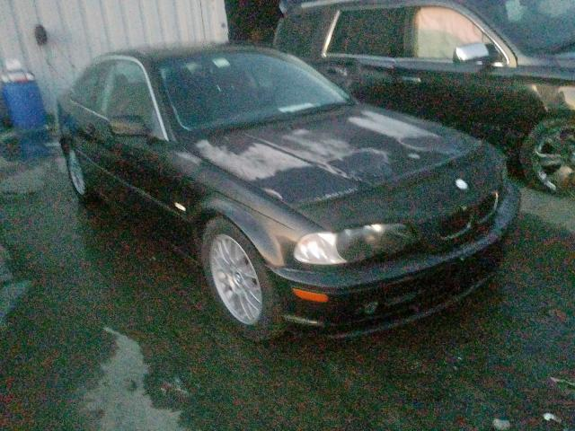 Salvage cars for sale from Copart York Haven, PA: 2003 BMW 325 CI