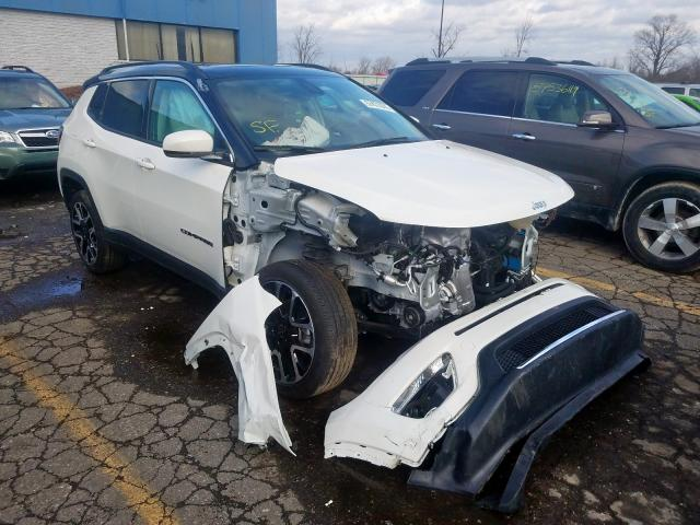 2018 Jeep Compass Limited Photos Mi Detroit Salvage Car