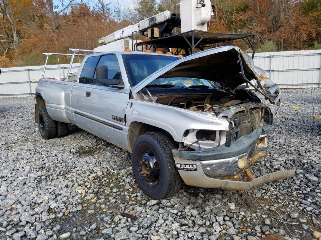 Dodge RAM 3500 salvage cars for sale: 2001 Dodge RAM 3500