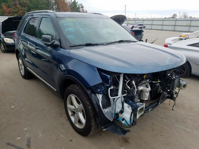 Salvage cars for sale from Copart Dunn, NC: 2019 Ford Explorer X