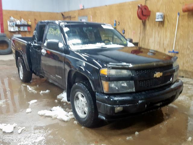 Salvage cars for sale from Copart Kincheloe, MI: 2005 Chevrolet Colorado