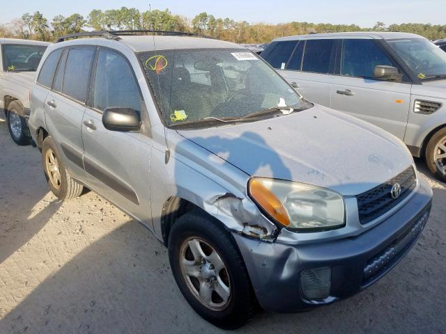 Salvage cars for sale from Copart Houston, TX: 2002 Toyota Rav4