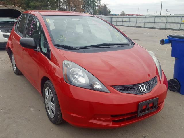 Salvage cars for sale from Copart Dunn, NC: 2011 Honda FIT