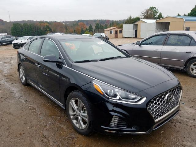 Salvage cars for sale from Copart China Grove, NC: 2018 Hyundai Sonata Sport