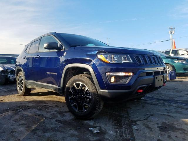 Jeep Compass TR salvage cars for sale: 2019 Jeep Compass TR