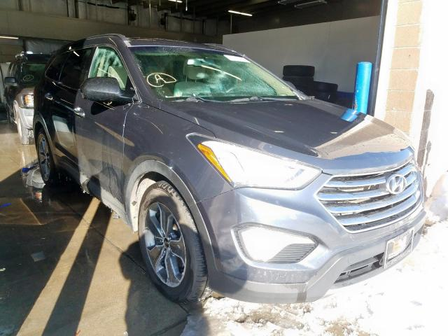 Hyundai Santa FE S salvage cars for sale: 2016 Hyundai Santa FE S