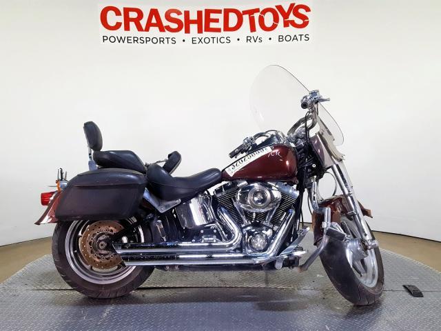 Salvage 2009 Harley-Davidson FLSTF for sale
