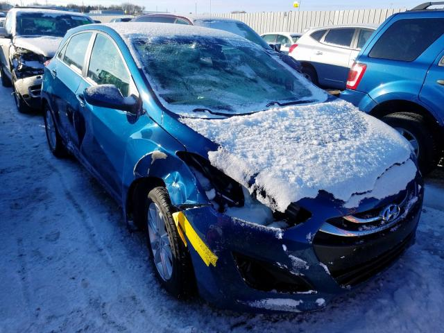 Salvage cars for sale from Copart Greenwood, NE: 2013 Hyundai Elantra GT