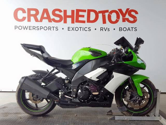Salvage 2010 Kawasaki ZX1000 F for sale