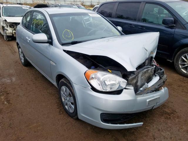 Salvage cars for sale at Davison, MI auction: 2010 Hyundai Accent SE