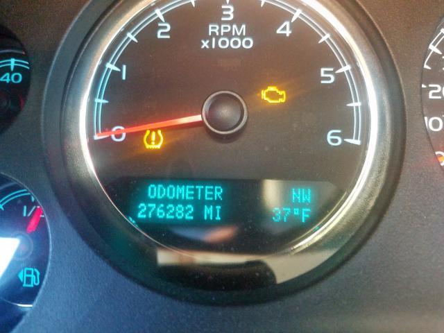 2012 Chevrolet Suburban K 5.3L front view