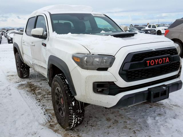 Toyota Tacoma DOU salvage cars for sale: 2018 Toyota Tacoma DOU