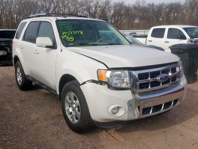 Salvage cars for sale from Copart Oklahoma City, OK: 2011 Ford Escape LIM