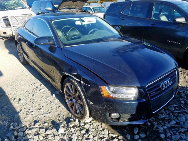 Salvage cars for sale at Windsor, NJ auction: 2011 Audi A5 Premium