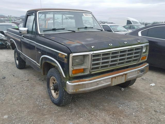 1981 Ford F150 For Sale Tn Knoxville Tue Dec 31 2019 Used Salvage Cars Copart Usa