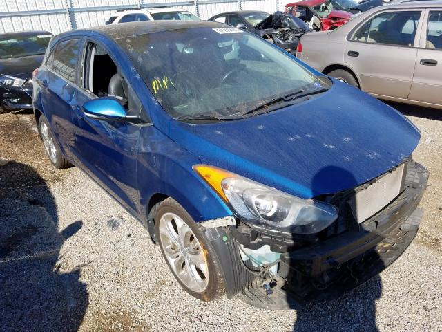 Salvage cars for sale at Harleyville, SC auction: 2014 Hyundai Elantra GT