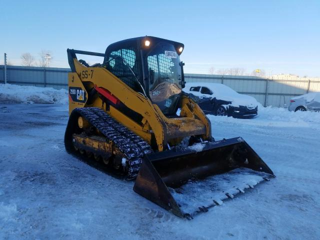 Salvage 2015 Caterpillar 299D for sale