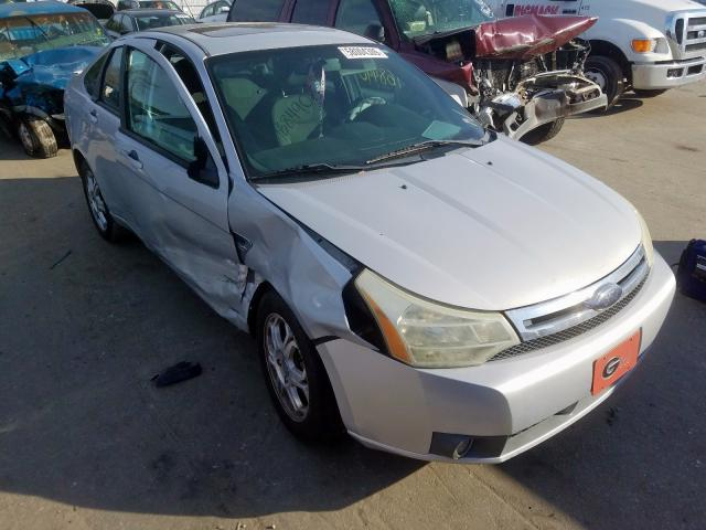 Salvage cars for sale from Copart Dunn, NC: 2008 Ford Focus SE