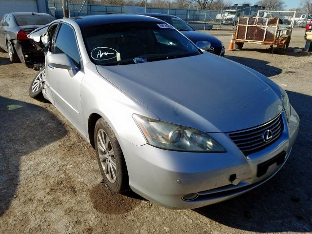 Salvage cars for sale from Copart Wichita, KS: 2008 Lexus ES 350