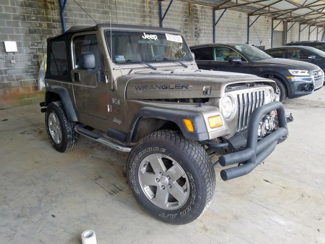 Jeep Wrangler X salvage cars for sale: 2004 Jeep Wrangler X