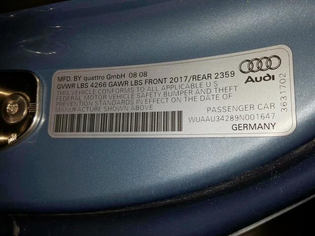 2009 AUDI R8 4.2 QUATTRO - 10