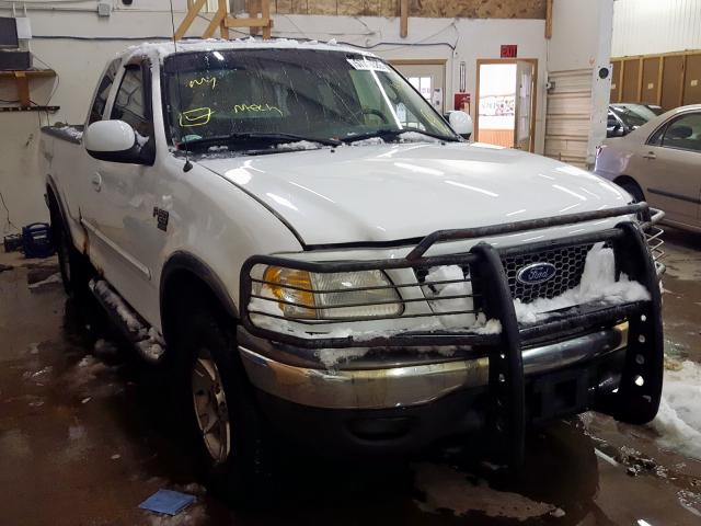 Salvage cars for sale from Copart Avon, MN: 2002 Ford F150