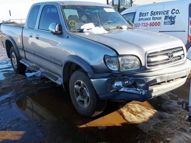 Toyota Tundra ACC salvage cars for sale: 2002 Toyota Tundra ACC