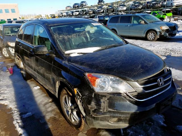 Honda CR-V EXL salvage cars for sale: 2010 Honda CR-V EXL