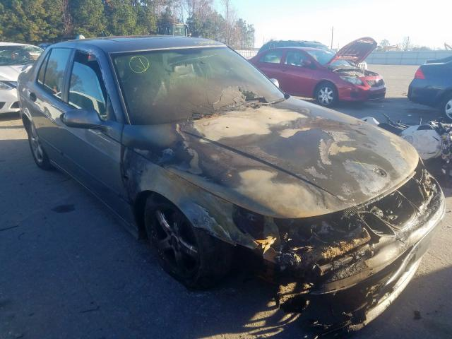 Saab salvage cars for sale: 2004 Saab 9-5 ARC