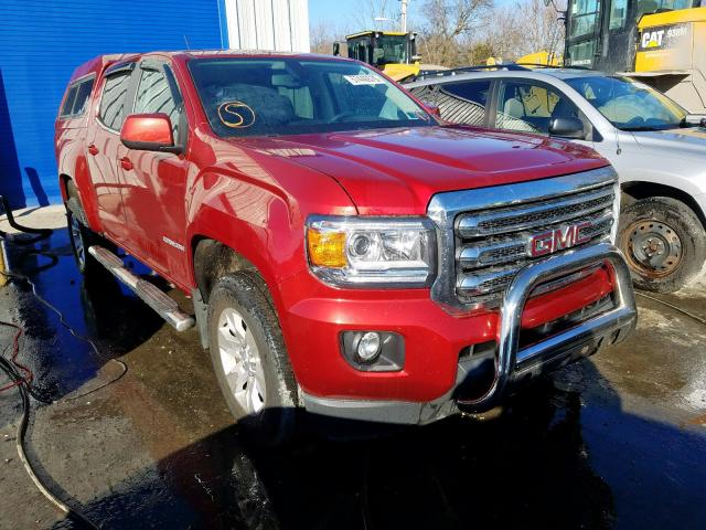 Salvage cars for sale from Copart Glassboro, NJ: 2016 GMC Canyon SLE