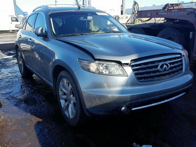 Infiniti FX45 salvage cars for sale: 2006 Infiniti FX45