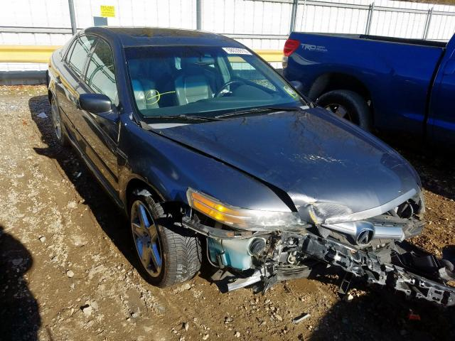 Salvage cars for sale from Copart Glassboro, NJ: 2005 Acura TL