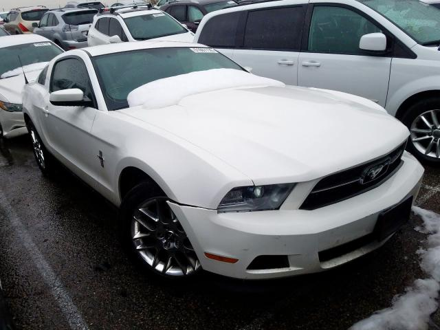 Ford Mustang salvage cars for sale: 2012 Ford Mustang