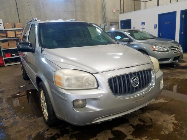 Buick Terraza CX salvage cars for sale: 2007 Buick Terraza CX