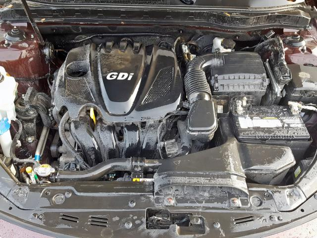 5XXGM4A74DG124007 - 2013 Kia Optima Lx 2.4L inside view