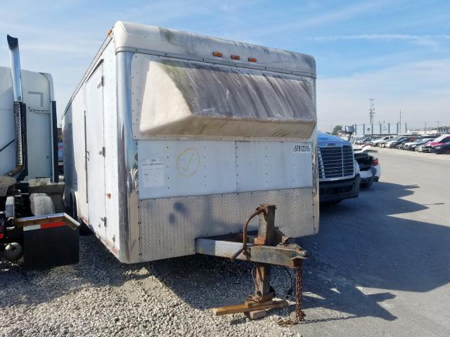 Cargo salvage cars for sale: 1999 Cargo Trailer