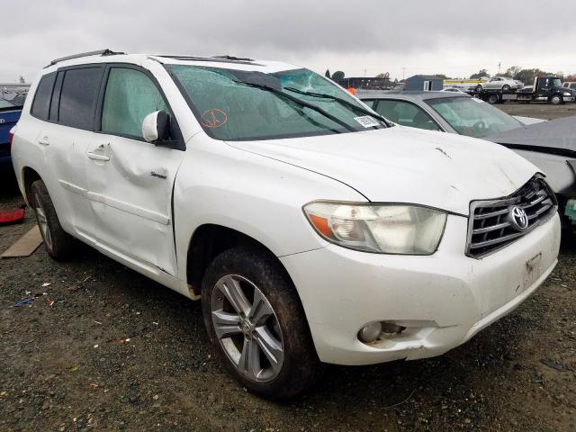 2008 Toyota Highlander For Sale >> 2008 Toyota Highlander For Sale At Copart Antelope Ca Lot 58097809 Salvagereseller Com