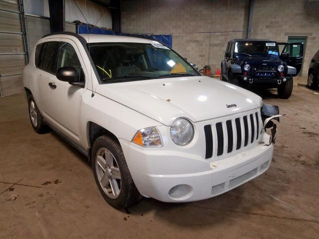 Jeep Compass salvage cars for sale: 2007 Jeep Compass